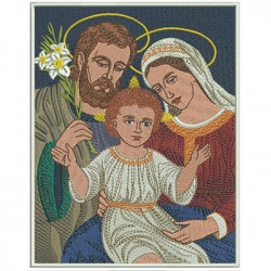 HOLY FAMILY RECTANGULAR