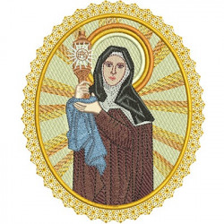 MEDAL SAINT CLARE