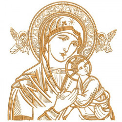 OUR LADY OF PERPETUAL HELP WITH 18 CM
