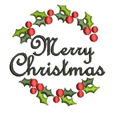 GUIRLANDA MERRY CHRISTMAS 5